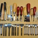 ابزار لازم برای کار چرم