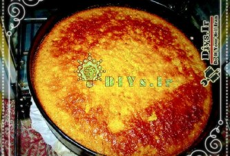 آموزش طرز تهیه و پخت کیک پرتقالی پالپ دار