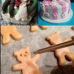 کیک عروسکی ساده