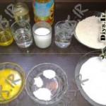 نیازهای پخت شیرنی