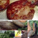 کباب گوشت و سویا