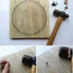 هنر میخ کوبی و ایجاد طرح