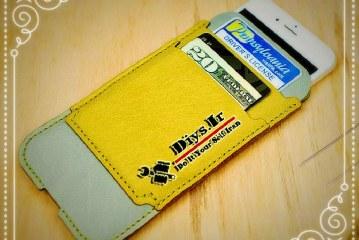 آموزش دوخت کیف چرم موبایل