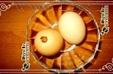 آموزش خالی کردن تخم مرغ بدون شکستن