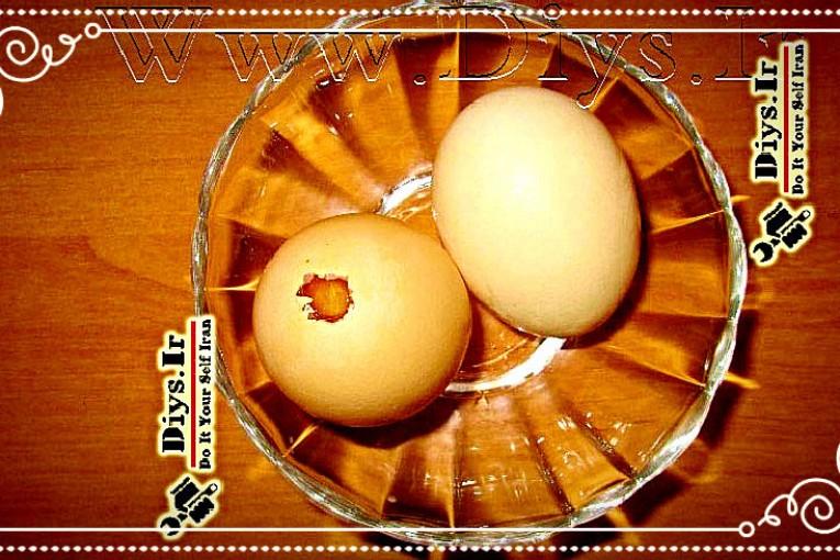 تخم مرغ خالی