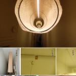 طرز ساخت لامپ اویز