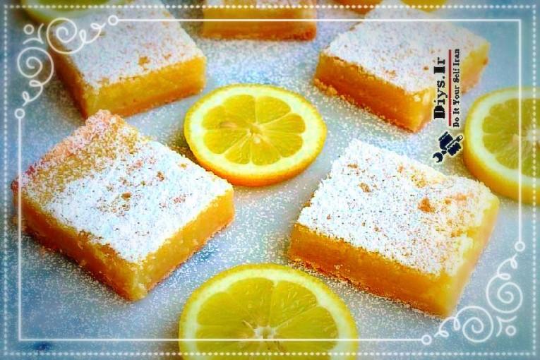 تارت لیمو خانگی