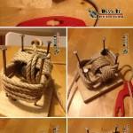 ایده خلاقانه با بند کفش