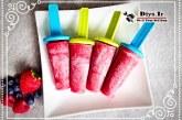 طرز تهیه بستنی یخی سه میوه