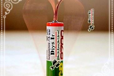 ساخت کادو ولنتاین الکتریکی