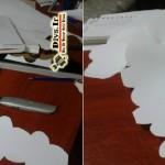 ساخت لوستر طلقی دست ساز