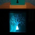 چراغ خواب مکعبی