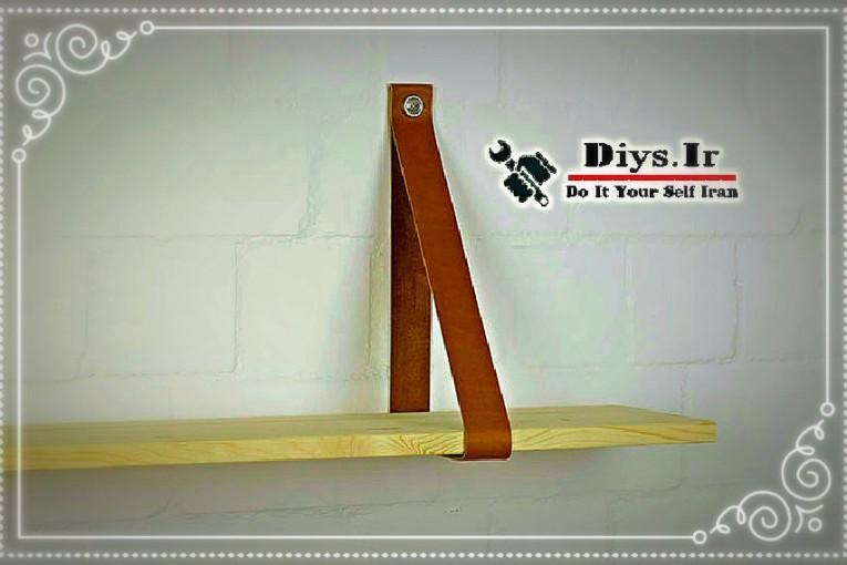 آموزش شلف دیواری چوبی