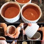 دسر سوفله شکلاتی