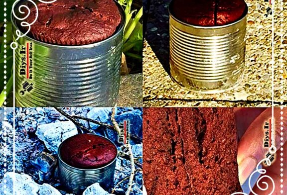 چگونه طرز تهیه کیک شکلاتی بدون تخم مرغ در اردو (Camping)
