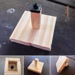 ادیه خلاقانه با چوب
