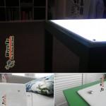 طرز ساخت میز نور