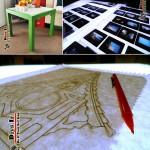 ساخت میز نور