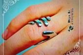 آموزش چگونه ساخت انگشتر زیبا با چنگال