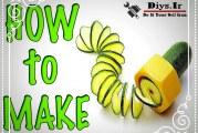 آموزش چگونه ساخت رنده مارپیچ ساده در خانه