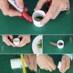 ایده برای استفاده از دور ریزها