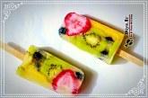 آموزش چگونه طرز تهیه بستنی یخی چند میوه در خانه