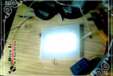آموزش پروژه چگونه ساخت پنل LED