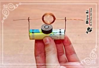 آموزش چگونه ساخت موتور الکتریکی ساده
