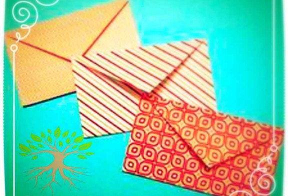 آموزش چگونه ساخت پاکت کادویی فانتزی