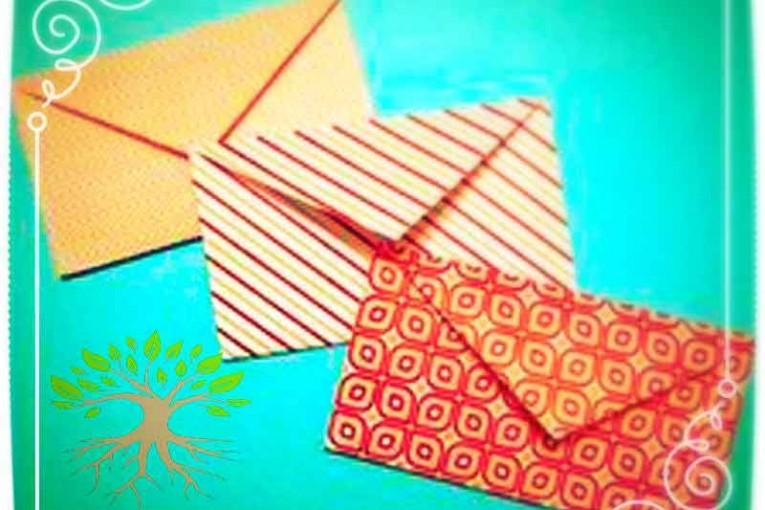 آموزش پاکت نامه های زیبا