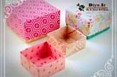 آموزش چگونه ساخت جعبه کادو اوریگامی