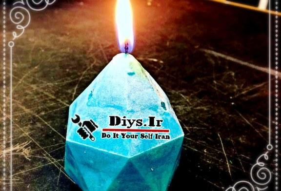 آموزش ساخت شمع رنگی
