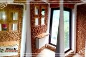 آموزش تصویری ساخت دیوار پوش سه بعدی چوبی