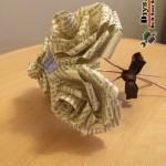 کاردستی گل کاغذی