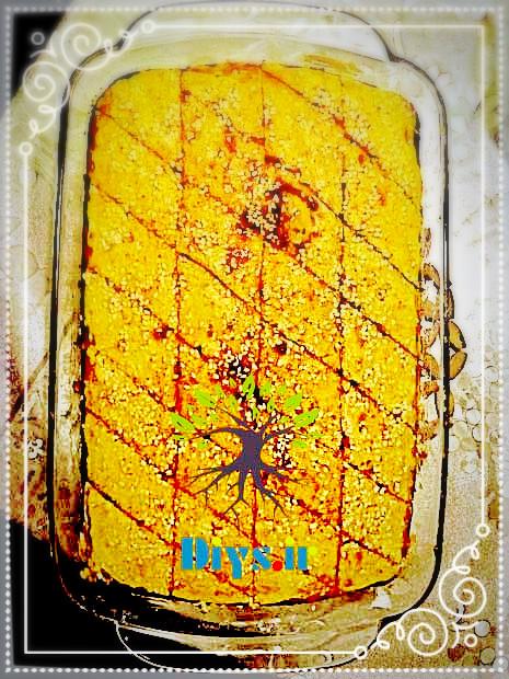 آموزش تصویری طرز تهیه کیک باقلوا خانگی