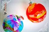 آموزش تصویری ساخت گوی شیشه ای رنگی
