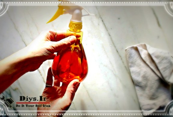 آموزش ساخت محلول پاک کننده پوست پرتقال