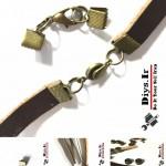 آموزش ساخت دستبند چرمی مردانه