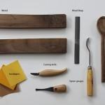قاشق چوبی ژاپنی