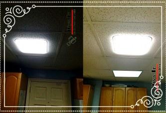 آموزش نصب پنل LED توکار
