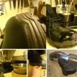 ترفند ضد آب کردن کفش