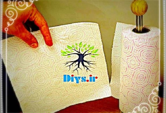 ایده و ترفند بهبود جا دستمال رولی کاغذی