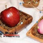 تزیین سیب