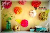 آموزش تصویری ساخت گل کاغذی تزیینی