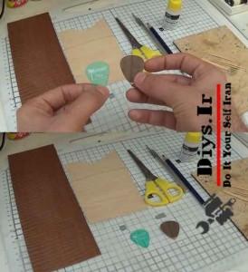 ساخت پیک گیتار چوبی