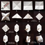 ساخت ریسه کاغذی اوریگامی