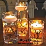 ایده ساخت شمع رنگی تزیینی