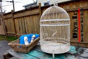 بازسازی قفس پرنده قدیمی
