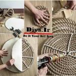 ایده های خلاقانه با طناب کنفی