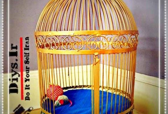 آموزش تصویری بازسازی قفس پرنده قدیمی